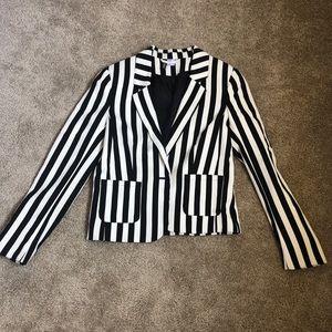 Black & White blazer